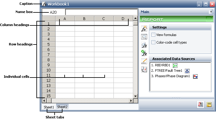 Spreadsheet Components – Components Of A Spreadsheet