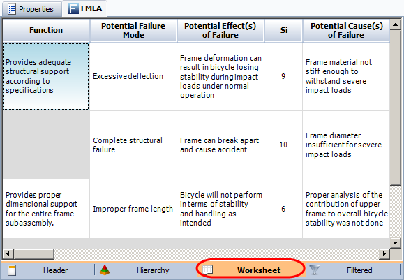 Worksheets Fmea Worksheet fmea worksheet